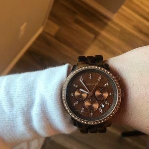 Michael Kors Tortoise shell watch - USED COND